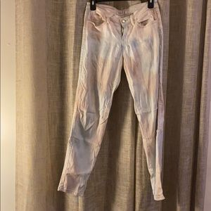 GUESS jeans stretch pants, beige blue cream size30